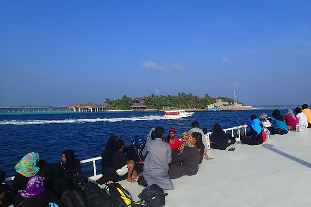 Ferry to Male, Maldives