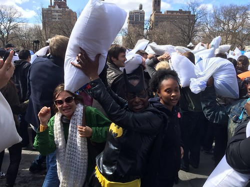 Pillow Fight Day 2014