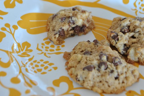 Bourbon Chocolate Chip Cookies