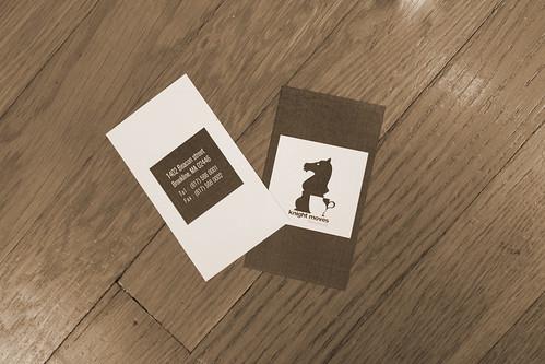 promo card