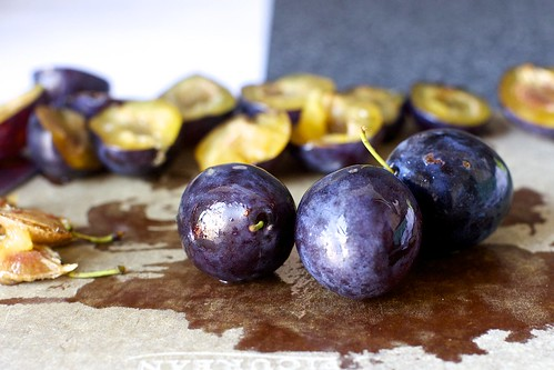 dark italian plums
