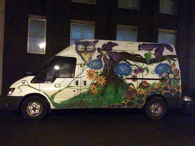 Painted van, Bristol