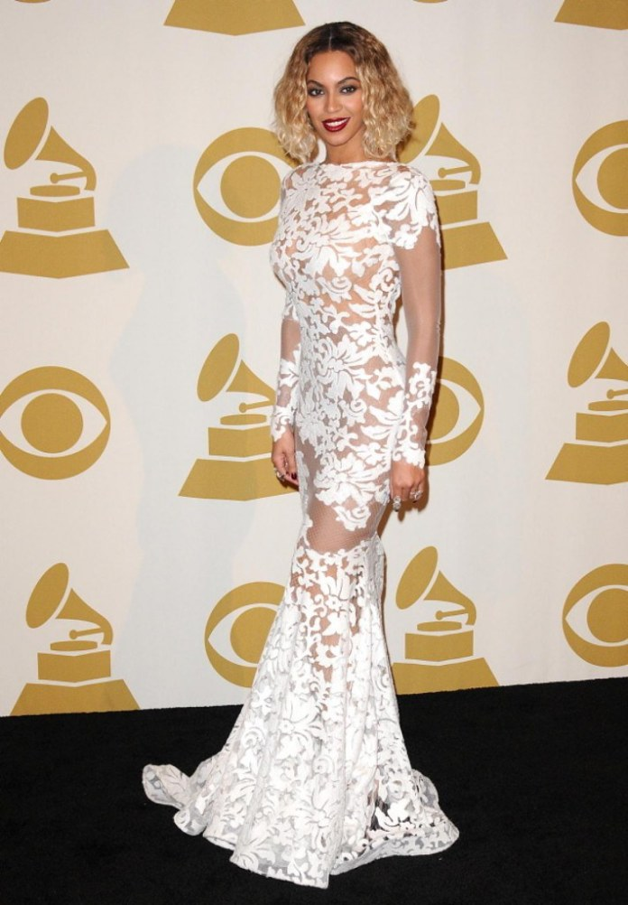 Michael Costello Designed Beyoncé's Grammy Dress