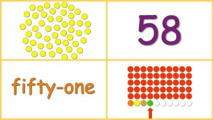 Learning Numbers 50-60 Free Baby Math Video