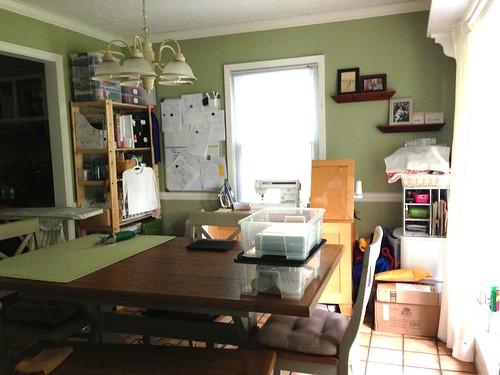 Studio space before