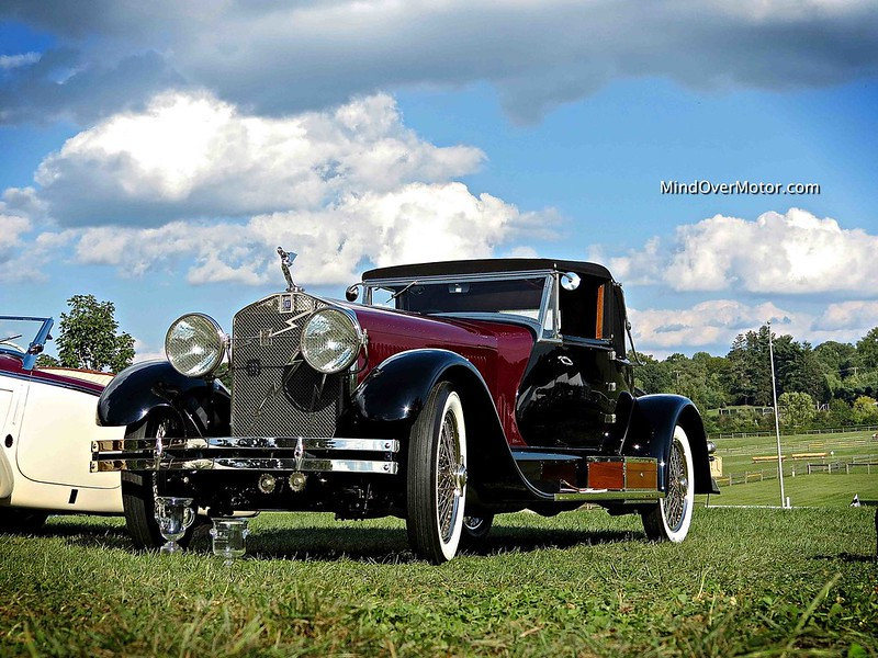 1929 Isotta Fraschini 8A SS Boattail Convertible Coupe LeBaron