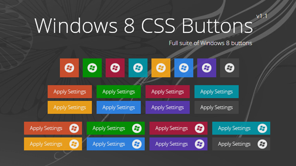Win8 Button
