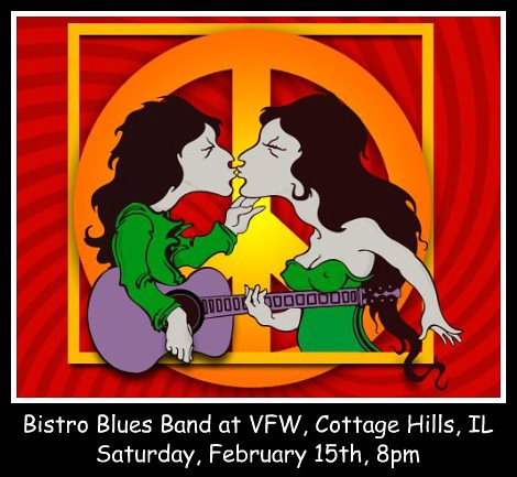 Bistro Blues Band 2-15-14