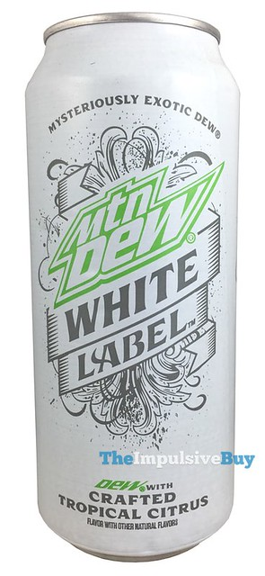 review: mtn dew white label - the impulsive buy
