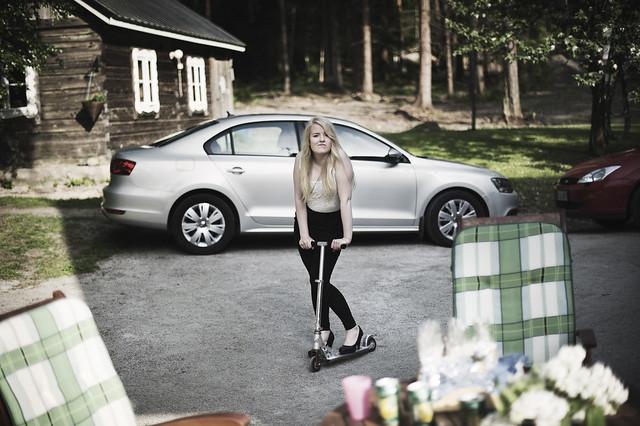 Milja, on wheels