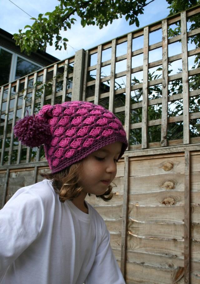 Autumn duo colour hat 7