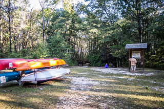 Aiken State Park Canoes