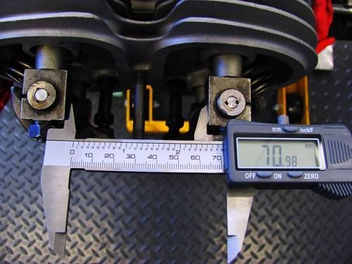 Measuring Distance Between Rocker Blocks