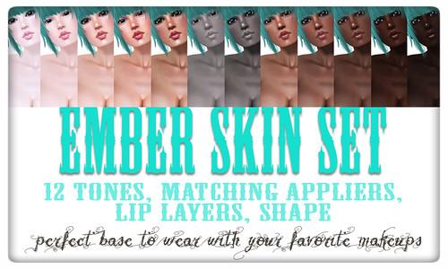 ember skin set poster
