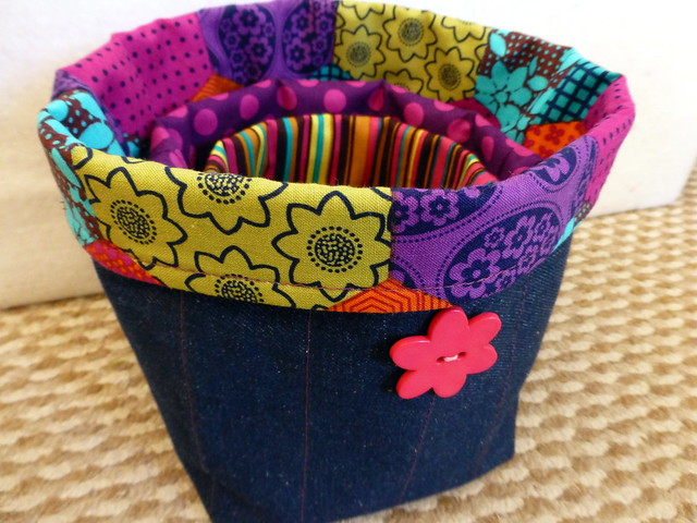 Fabric Buckets for Kids workshop