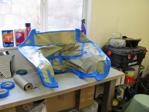Windjammer Fairing Inside Surface Masking
