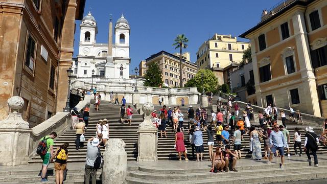 Rome- The Spanish Steps