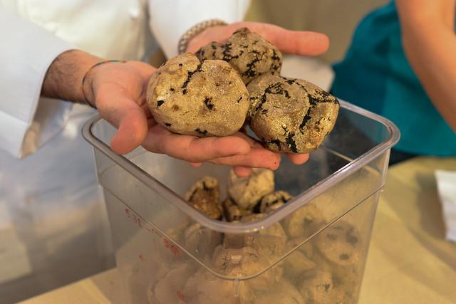 La Vecchia Cucina tortigliono ai funghi e tartufo