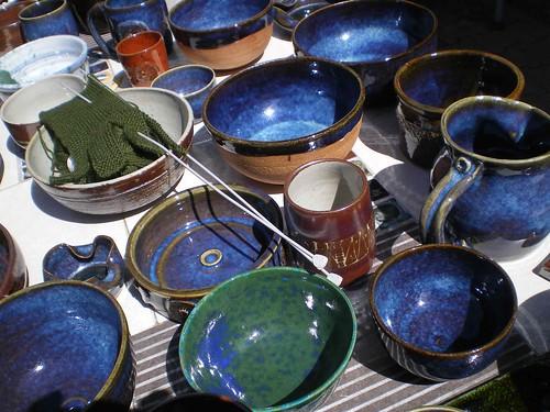 céramique potier cuisson