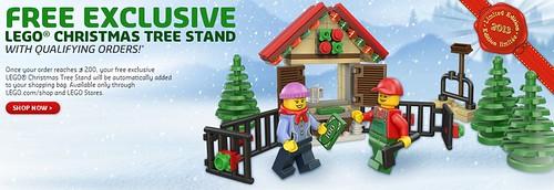 LEGO Shop@Home Christmas Tree Stand Free