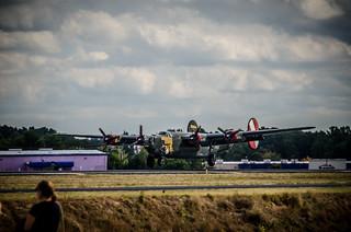 B-24 Landing