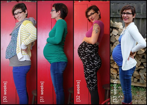 Bump Watch, 2013: Weeks 30-33.