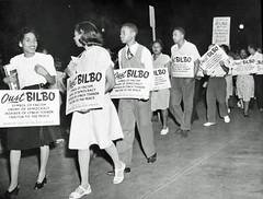 Negro Congress Pickets Bilbo: 1946