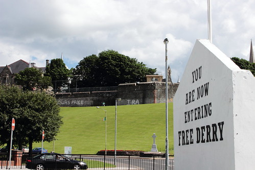 Derry Walls from Free Derry Corner