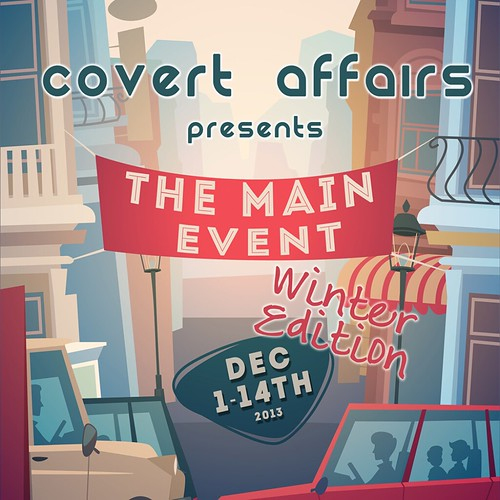 Covert Affairs presents The Main Events, starts Dec 1st