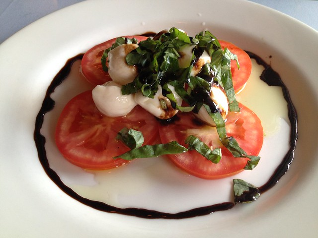 Fresh mozzarella and tomato - Curbside Cafe