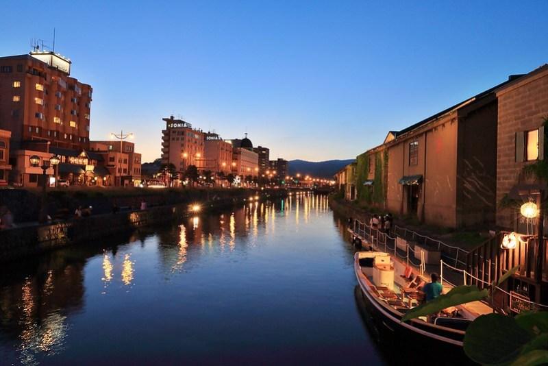 古樸靜美的小樽運河