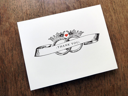 Kate and Wills Printable Thank You Card Printable