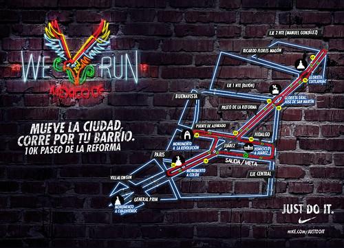Ruta We Run México DF 2013