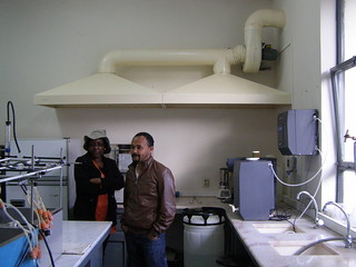 Upgrade of the nutritional labs in Debre Zeit (Photo credit: ILRI/Addis Tigabu)