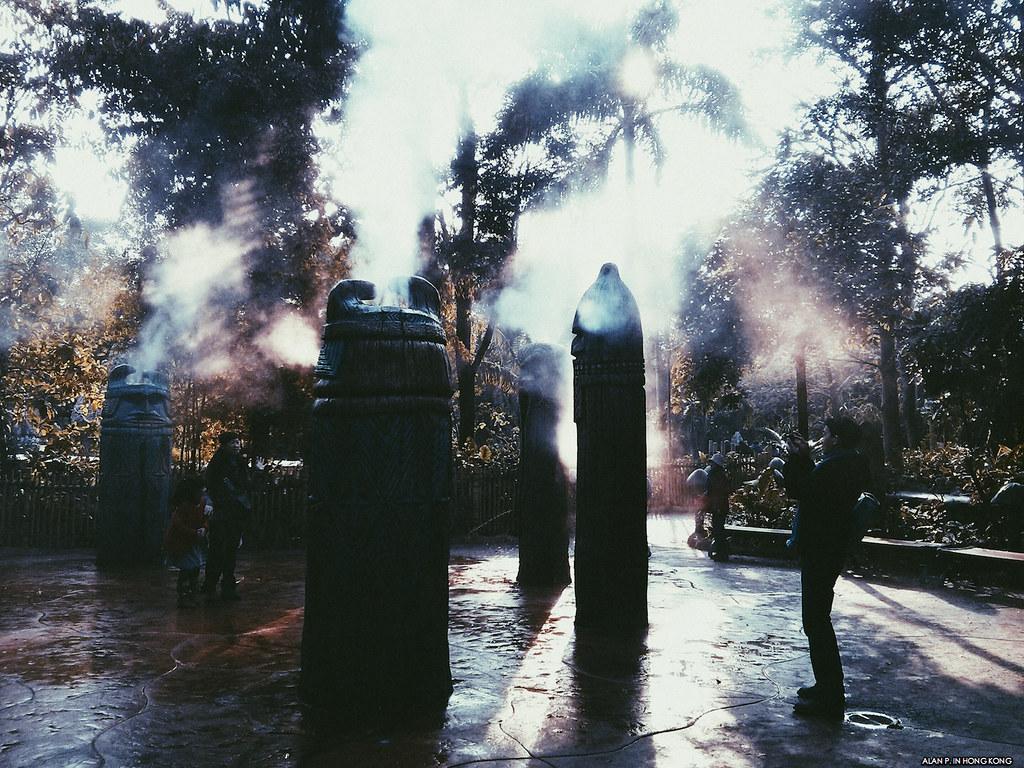 The Misty Pillars