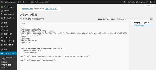 Functionality_追加プラグインコード編集