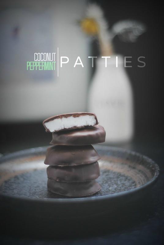 Coconut Peppermint Patties