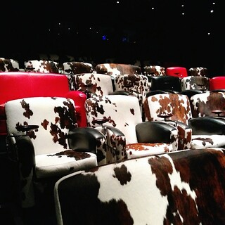 What a fantastic screening room they have at The Soho Hotel
