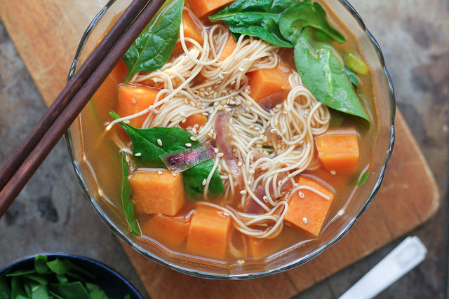 sriracha sweet potato noodle soup [ inthiskitchen.com ]