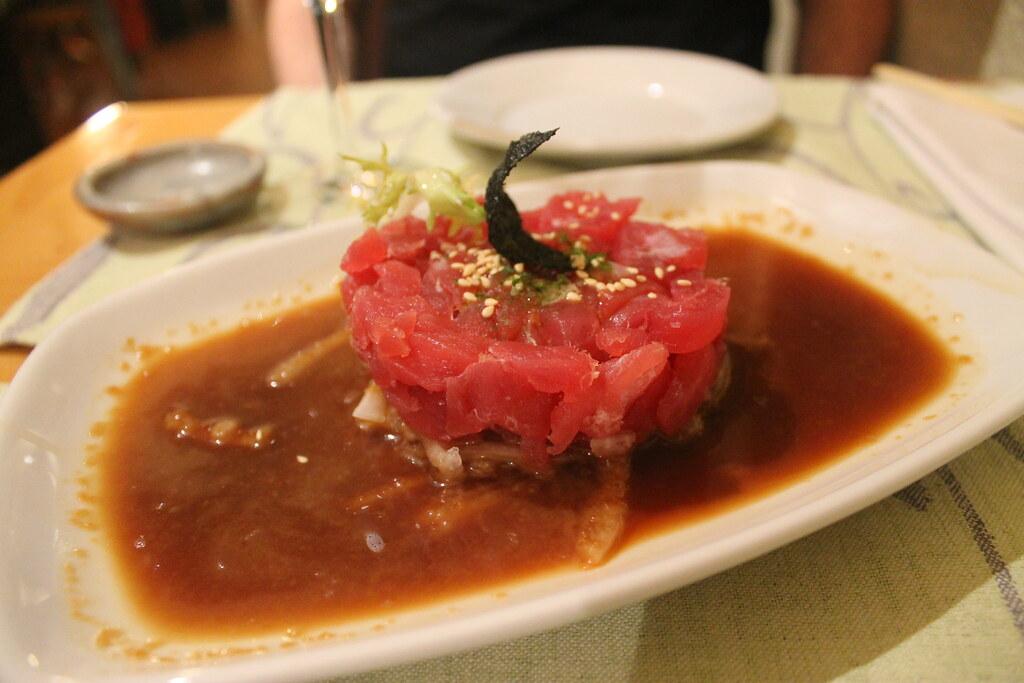 Tartar de atún en Shunka