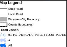 Map Legend (flood map)