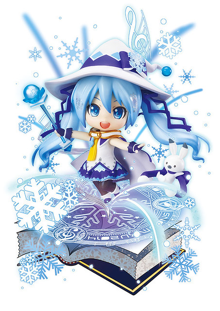 Key Visual for Nendoroid Snow Miku: Magical Snow version