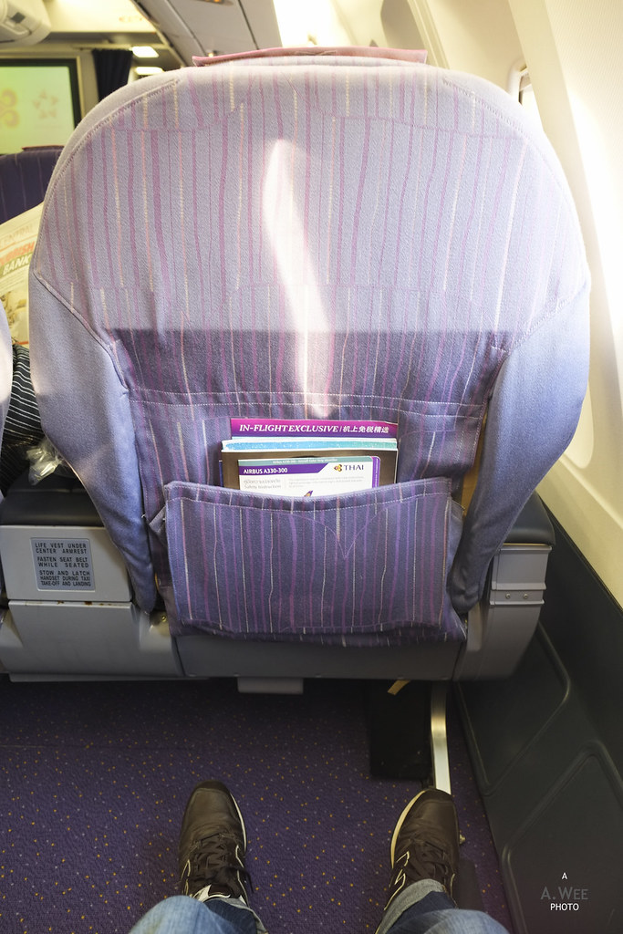 Seatpitch on the old Business Class