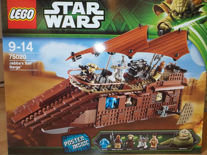 Review: 75020 Jabba's Sail Barge, by Csacsa234