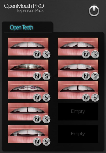 OpenTeeth expansion HUD