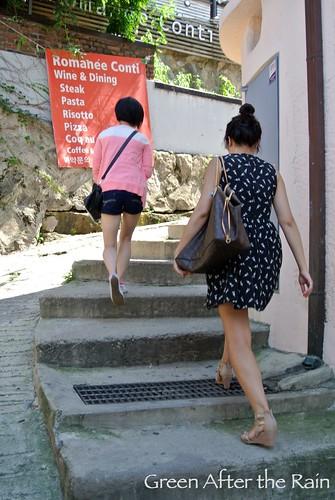 Bukchon 8th Spot: Samcheong-dong Stair Rock and Samcheong-dong