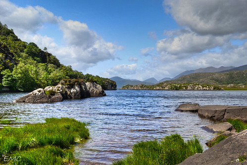 The Upper Lake, Kilarney. Co Kerry