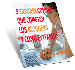5 Errores Comunes Que Cometen Los Bloggers Y Como Evitarlos