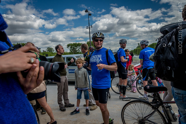 The London to Paris Bike Ride
