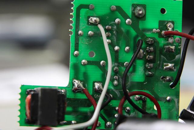 solder side of PCB